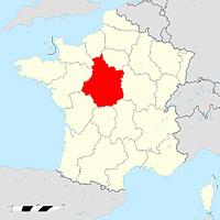 Центр-Долина Луары - регион Франции