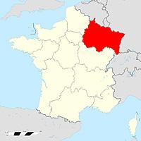 Эльзас-Шампань-Арденны-Лотарингия - новый регион Франции