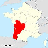 Аквитания-Лимузен-Пуату-Шаранта - новый регион Франции