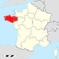 Бретань - новый регион Франции