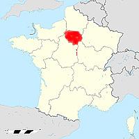 �ль-де-Франс - новый регион Франции
