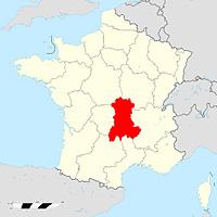 Овернь - регион Франции