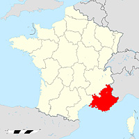Прованс-Альпы-Лазурный берег - регион Франции