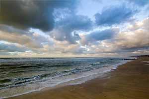 Климат западного побережья Франции