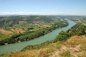 Климат восточных низменностей Франции (Верхнерейнская низменность, низменность Роны-Соны)