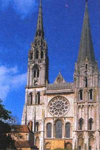 Собор в Шартре. Франция. Готика. XII—XIV в.в.
