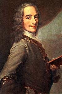 Вольтер (1694—1778) - представитель французского Просвещения XVIII в.