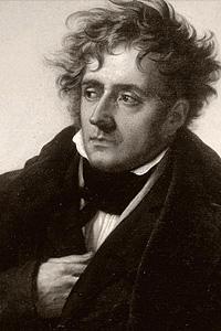 Франсуа Рене де Шатобриан (1768—1848) - французский писатель XIХ в.