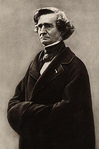 Гектор Берлиоз (1803 — 1869) - представитель французской музыки XIX в.