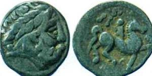 Монета с изображением кельтского правителя