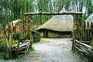 Кельтское поселение в Галлии. Реконструкция