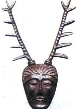 Кельтское божество с головой оленя