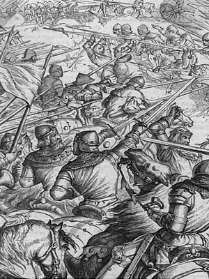 Столетняя война. Битва при Азенкуре (1415 г.)
