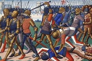 Столетняя война. Битва при Краване (1423 г.)
