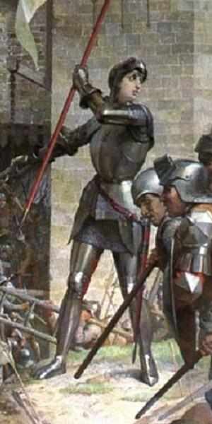 Битва при Пате (1429 г.): Жанна Д'Арк накануне битвы