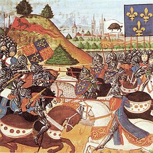 Столетняя война. Битва при Пате (1429 г.)