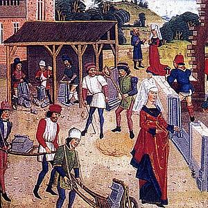 Торговля во Франции во второй половине XV века