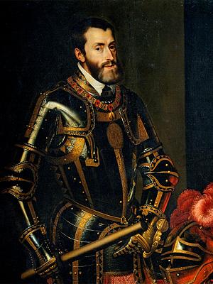 Карл V - король �спании (1519 - 1556)