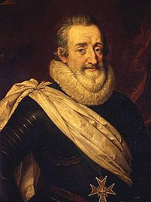 Генрих IV Бурбон - король Франции (1589 - 1610 г.г.)