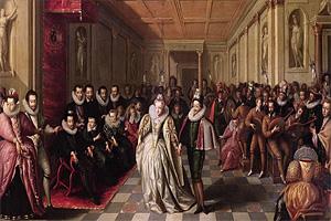 Дворянские балы в Париже в XVI веке