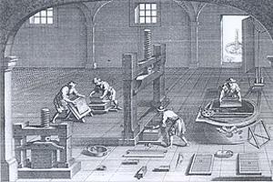 Мануфактура во Франции в XVI веке