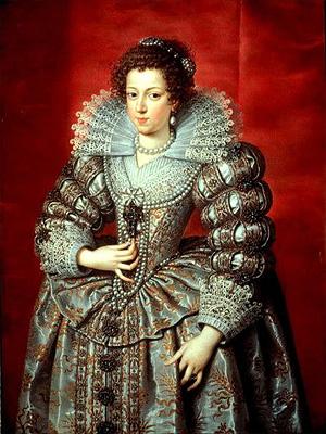 Анна Австрийская - королева и регентша Франции (1615-1651 г.г.)