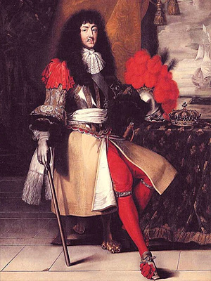 Людовик XIV - король Франции (1643 - 1715 г.г.)