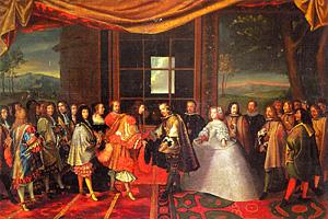 Подписание Пиренейского мира (1659 г.г.)