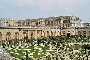 Версаль - королевская резиденция Франции в конце XVII века