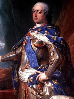 Людовик XV  - король Франции (1715 - 1774 г.г.)