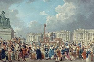 Социальные волнения во Франции в первой половине XVIII века
