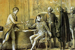 Наполеон Бонапарт формирует свое Правительство