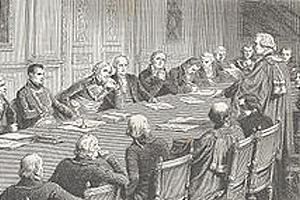 Обсуждение проекта Конституции 1804 г.