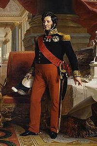 Луи-Филипп I - король Франции (1830-1848 г.г.)