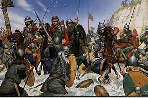 Рыцари - основа франкской армии Каролингов