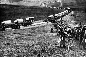 Первая мировая война. Маневры французской армии