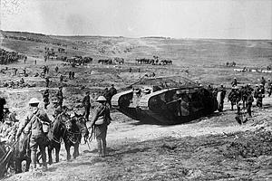 Первая мировая война. Битва на Сомме