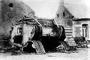 Первая мировая война. Операция у Камбре