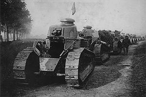 Военная промышленность Франции в годы Первой мировой войны. Танки Рено