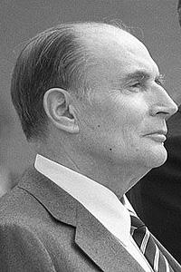 Франсуа Миттеран (1916 - 1996) - кандидат в президенты Франции на выборах 1965 года