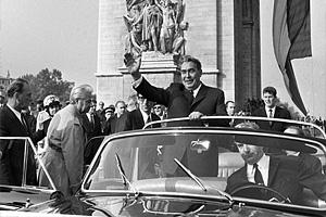 Визит Л.�. Брежнева в Париж