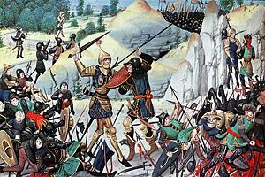 Карл Великий и рыцарь Роланд
