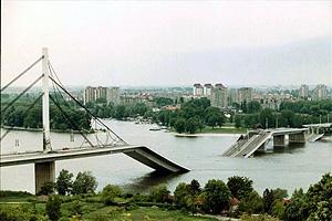 Югославский конфликт 1998 г. Бомбардировки Белграда