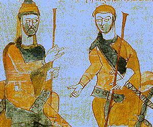 Королевские посланцы в империи Карла Великого