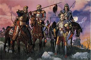 Рыцари - основа франкского войска