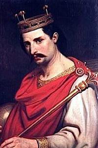 Младший внук Карла Великого - Карл Лысый (король Западно-Франкского государства)