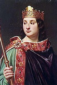 Старший внук Карла Великого - Лотарь