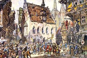 Города против феодальной зависимости