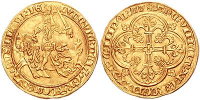 Королевская монета Франции (XIII в.)
