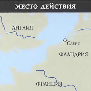Битва при Слёйсе (1340  г.): место битвы